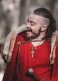 Reenactment histórico medieval Fotos de Stock