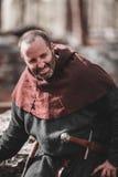 Reenactment histórico medieval Imagens de Stock