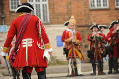 reenactment historyczne Zdjęcia Stock