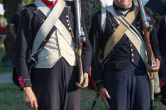 Reenactment napoleon. Pageants celebrations nineteenth century Napoleon's military campaign in Italy Stock Photography