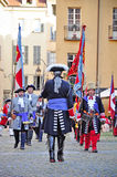 Reenactment of siege of Turin, september 1706. Stock Photo