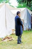 Reenactor Авраама Линкольна Стоковая Фотография RF