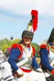 Reenactor-cuirassier Royalty Free Stock Photo