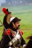 Reenactor-cuirassier portrait Stock Photo