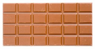 Reep chocolade Royalty-vrije Stock Foto's
