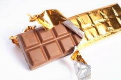 Reep chocolade Royalty-vrije Stock Afbeelding