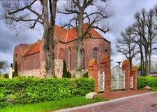 Reepsholtkerk Stock Foto