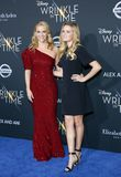 Reese Witherspoon and Ava Phillippe. At the Los Angeles premiere of `A Wrinkle In Time` held at the El Capitan Theater in Hollywood, USA on February 26, 2018 Royalty Free Stock Photo