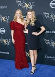 Reese Witherspoon and Ava Phillippe. At the Los Angeles premiere of `A Wrinkle In Time` held at the El Capitan Theater in Hollywood, USA on February 26, 2018 Stock Image