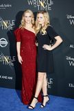 Reese Witherspoon and Ava Phillippe. At the Los Angeles premiere of `A Wrinkle In Time` held at the El Capitan Theater in Hollywood, USA on February 26, 2018 Stock Photography