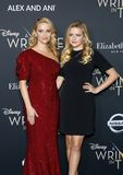 Reese Witherspoon and Ava Phillippe. At the Los Angeles premiere of `A Wrinkle In Time` held at the El Capitan Theater in Hollywood, USA on February 26, 2018 Stock Images