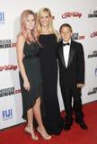 Reese Witherspoon, Ava Phillippe und Diakon Phillippe lizenzfreie stockfotografie