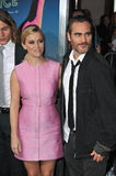 Reese Witherspoon et Joaquin Phoenix Photos stock