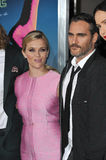 Reese Witherspoon & Joaquin Phoenix Immagine Stock