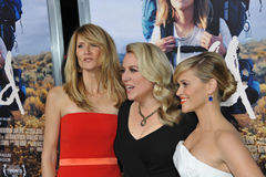 Reese Witherspoon & Laura Dern & Cheryl Strayed Stock Photos