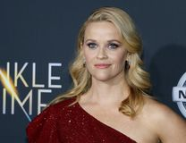 Reese Witherspoon. At the Los Angeles premiere of `A Wrinkle In Time` held at the El Capitan Theater in Hollywood, USA on February 26, 2018 Royalty Free Stock Photo