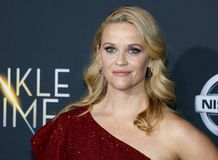 Reese Witherspoon. At the Los Angeles premiere of `A Wrinkle In Time` held at the El Capitan Theater in Hollywood, USA on February 26, 2018 Stock Photography