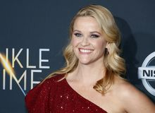 Reese Witherspoon. At the Los Angeles premiere of `A Wrinkle In Time` held at the El Capitan Theater in Hollywood, USA on February 26, 2018 Stock Photo