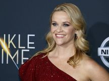 Reese Witherspoon. At the Los Angeles premiere of `A Wrinkle In Time` held at the El Capitan Theater in Hollywood, USA on February 26, 2018 Royalty Free Stock Images