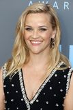 Reese Witherspoon. At the 23rd Annual Critics` Choice Awards held at the Barker Hangar in Santa Monica, USA on January 11, 2018 Stock Photos