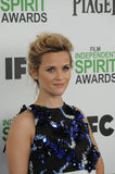 Reese Witherspoon. SANTA MONICA, CA - MARCH 1, 2014: Reese Witherspoon at the 2014 Film Independent Spirit Awards on the beach in Santa Monica, CA Royalty Free Stock Photography