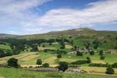 Reeth dans les vallées de Yorkshire Photo libre de droits
