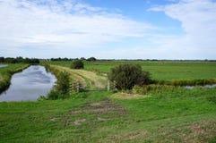Reeuwijkse Plassen nature area, the Netherlands. Reeuwijkse Plassen nature area, part of the Green Heart region in the Netherlands Stock Photography