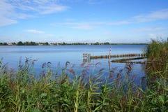 Reeuwijkse Plassen natury teren holandie Zdjęcia Stock