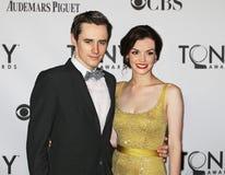 Reeve Carney et Jennifer Damiano Image libre de droits