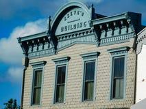 Reeve-` s Gebäude in der Sommerzeit lizenzfreies stockfoto