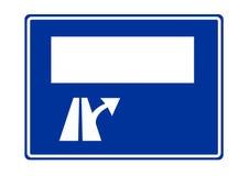 Reeway Verkehrsschild Lizenzfreies Stockbild