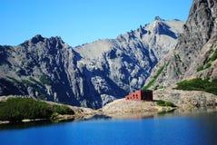 Refúgio da montanha em Argentina Fotos de Stock