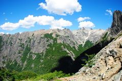 Refúgio da montanha em Argentina Imagens de Stock Royalty Free