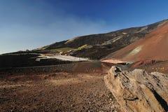 Refúgio de Etna Imagem de Stock Royalty Free