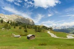 Refúgio em Sudtirol Foto de Stock Royalty Free