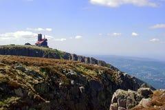 Refúgios em mountainsrefuges de Karkonosze nas montanhas fotos de stock royalty free