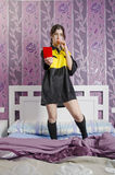 Ref girl Royalty Free Stock Photography