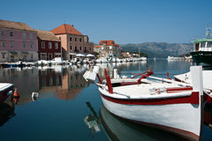 Refected natural beauty, Croatia Stock Photos