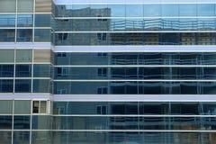 Refection на здании окна стоковое фото rf