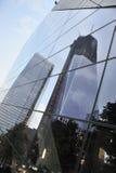 Refection da torre da liberdade - World Trade Center Fotos de Stock Royalty Free
