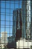 Refections en vidrio foto de archivo