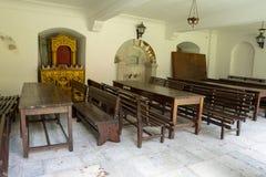 Refectory in Bachkovo Monastery stock photo