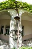 Refectory bell in Bachkovo Monastery in Bulgaria stock photo