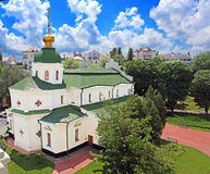 Refectory building of St. Sophia`s Cathedral in Kyiv Royalty Free Stock Photos