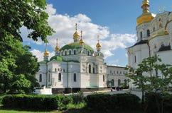 Refectory church in Kiev Pechersk Lavra Royalty Free Stock Image