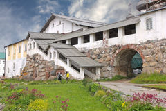 Refectory complex in the Solovetsky Monastery, Russia Stock Photography