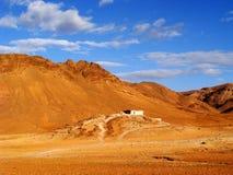 Refegee em Sahara Desert marrocos foto de stock