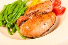 Refeição Cornish da galinha Fotografia de Stock Royalty Free
