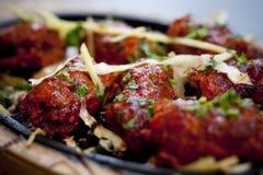 Refeição cozinhada do kebab fotografia de stock royalty free