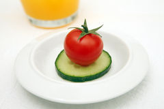 Refeição da dieta Imagem de Stock Royalty Free